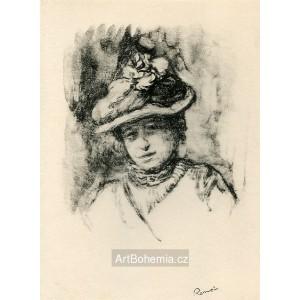 Portrait de Jeanne Baudot (1900)