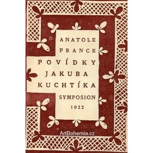 Anatole France - Povídky Jakuba Kuchtíka (linorytová obálka)