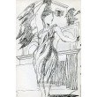 Žena s drapérií (Paříž 1945)