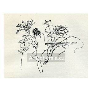 Akt s palmou (Zuzanka a Tichý oceán)