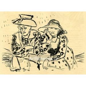 Na snopech (1909) (Červen)