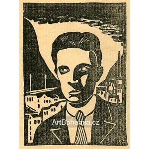 Portrét mladého básníka (Jaroslav Seifert) II