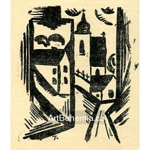 Bělice - z Táborska (1917)