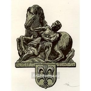 Braunova socha ze zámecké konírny v Litomyšli