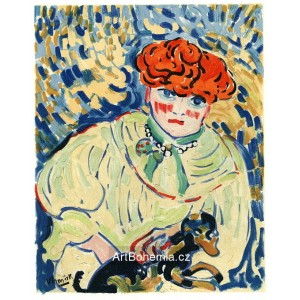 Femme au chien - Woman with a Dog (1906)