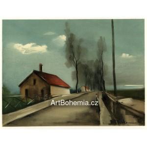 La route de Brezolles - The Brezolles Road (1926)
