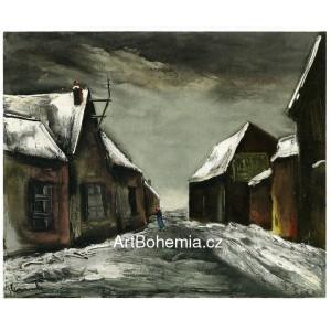 Allainville sous la neige - Allainville under Snow (1946)