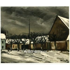 Les tilleuls sous la neige - Lime Trees under Snow (1952)