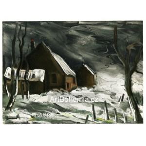 La Maladrerie sous la neige - La Maladrerie under Snow (1956)