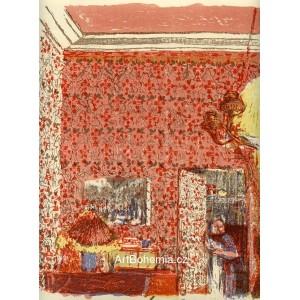 Intérieur aux tentures roses I (1899), opus 36
