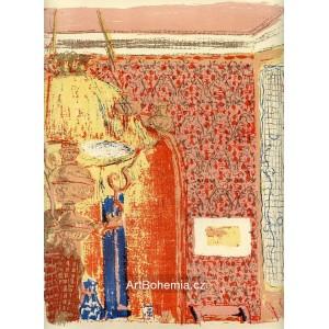 Intérieur aux tentures roses II (1899), opus 37