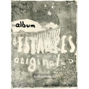 Couverture pour un album d´estampes (1899), opus 47