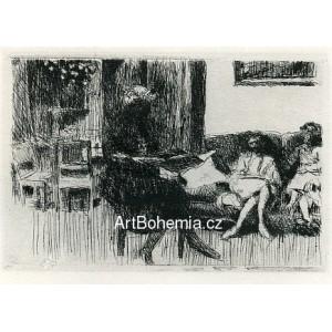 Intérieur au canapé ou soir (1930), opus 62