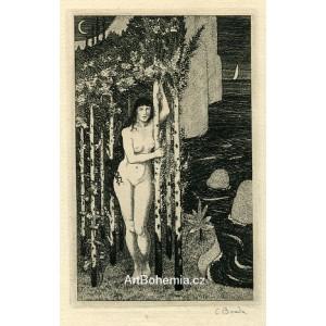 Dívčí akt pod stromy, opus 115