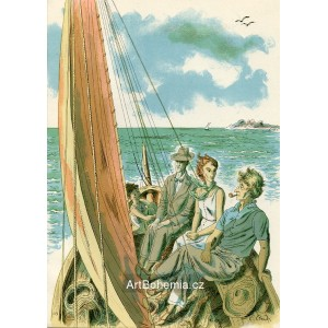 Čtyři lidé v plachetce, opus 948