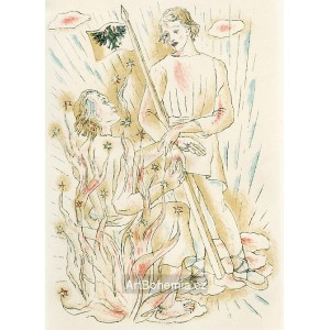 Píseň o Husovi z kancionálu Jana Táborského z Klokotské Hory