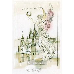 Anděl nad Prahou