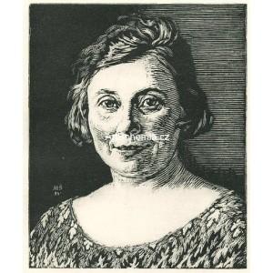 Portrét paní A.Š. (1924)