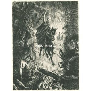 Apokalyptický jezdec (Satyr) (1938-45)