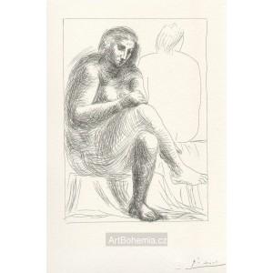 Au Bain (Suite Vollard) (1930), opus B.136