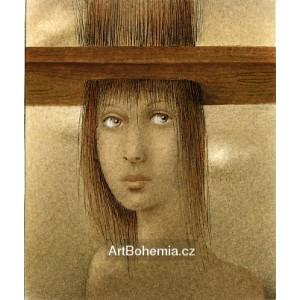 S vlasy skrz