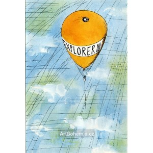 Balón nad mraky