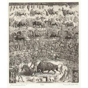 Tauromachie (z alba AB 50 - vydáno k padesátinám Albína Brunovského)